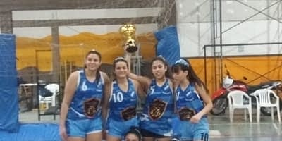 U19 Basquet Femenino Campeonas